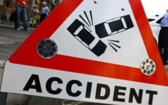 Accident pe DN 1 intre Vladeni si Persani