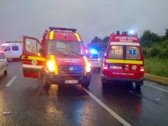 Accident produs de un sofer baut si fara permis la Daia