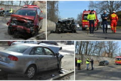 Accident provocat de un interlop pe strada 6 Vanatori