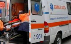 Accident rutier DN 1, in afara localitatii Apoldu de Sus un pieton a ajuns pe patul spitalului!