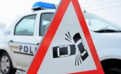 Accident rutier cauzat de distanta neregulamentara