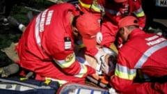 Accident rutier cu 3 victime. Intervin echipaje SMURD