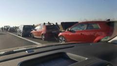 Accident rutier cu 5 victime, pe Autostrada A2