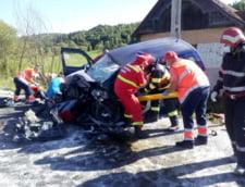 Accident rutier cumplit in Harghita: o persoana a murit, iar alte trei au fost grav ranite