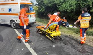 Accident rutier grav in Cosereni. Doua persoane au decedat