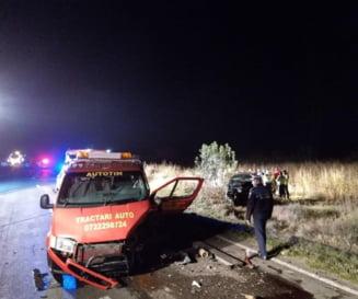 Accident rutier grav in Ialomita: 7 victime, dintre care 2 inconstiente. A fost activat Planul rosu de interventie