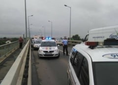 Accident rutier in Alba Iulia - coliziune intre 3 autovehicule in cartierul Partos