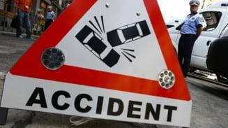 Accident rutier in Bucuresti: Doi copii au fost raniti