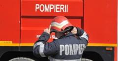 Accident rutier in Unirii, o conducta de gaz fisurata