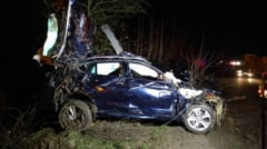 Accident rutier in care a fost implicat fiul deputatului Ovidiu Silaghi. Patru tineri, la spital (FOTO)
