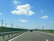 Accident rutier pe Autostrada Soarelui: Doua persoane au fost ranite, traficul e ingreunat
