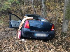 Accident rutier pe DJ 612A, la intrare in Rosiori