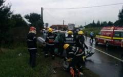 Accident rutier pe DN 13 - E 60