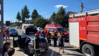 Accident rutier pe strada Laminoristilor din Campia Turzii