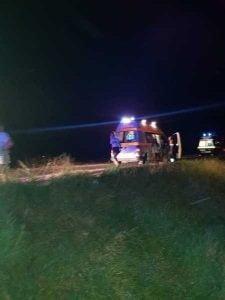 Accident rutier provocat de un biciclist baut, la Vitanesti