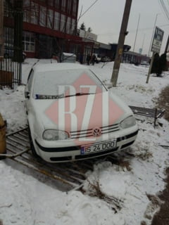 Accident spectaculos pe Calea Chisinaului - FOTO, VIDEO