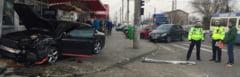 Accident spectaculos pe Soseaua Targoviste-Gaesti