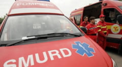 Accident stupid la Stefan cel Mare: Sofer ranit grav de o bara cazuta dintr-un camion