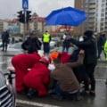 Accident teribil in centrul Clujului. Doua tinere au fost lovite de o masina pe trecerea de pietoni
