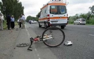 Accident tragic la Galati. Un copil a murit dupa ce a cazut de pe bicicleta si s-a lovit puternic la cap