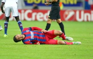 Accidentare groaznica pentru un jucator de la Steaua