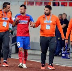 Accidentare serioasa la Steaua: Un jucator de baza lipseste o luna de zile