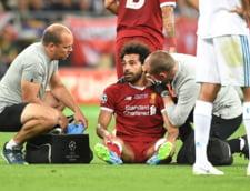 Accidentarea lui Salah este una grava. Ce diagnostic a primit egipteanul si cate saptamani poate lipsi