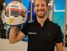 Accidentat grav in Formula 1, Romain Grosjean a fost sfatuit de fiul sau sa nu mai concureze in sporturile cu motor
