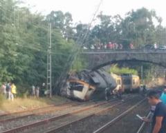 Accidentul mortal de tren din Spania, provocat de viteza excesiva