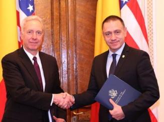 Achizitia sistemelor Patriot, semnata oficial in prezenta ministrului Apararii si ambasadorului SUA