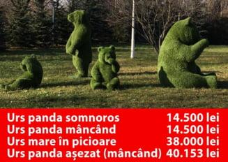 """Achizitii la preturi scandaloase la Sectorul 1, in mandatul ex-primarului Dan Tudorache: """"Ursi panda"""" de 20.000 de euro"""