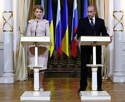 Acordul Putin -Timosenko, anulat de scumpirea gazului?
