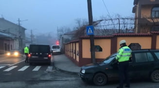 Actiune in forta a politistilor rutieri in orasul Bals si comunele arondate