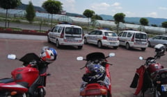 """Actiune preventiva in randul motociclistilor si biciclistilor. IPJ Valcea : """"De maine incolo o sa mergeti pe tronsonul 2 al bd. Dem Radulescu"""""""