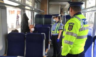 Actiuni de informare in trenurile de calatori si in statiile de cale ferata