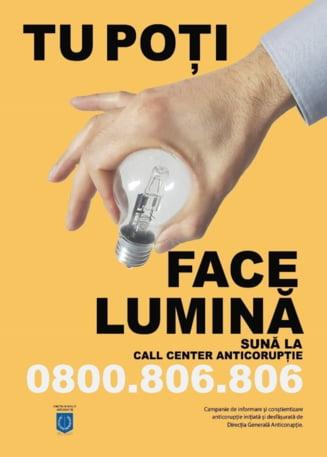 "Activitati de prevenire desfasurate la Giurgiu, in cadrul Campaniei anticoruptie ,,Tu poti face lumina"""