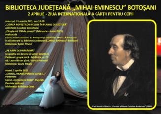 Activitati dedicate Zilei Internationale a Cartii pentru Copii, organizate de Biblioteca Judeteana Botosani