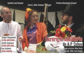 "Actorii Teatrului ""Mihai Eminescu"" Botosani invita publicul la spectacol in weekend"