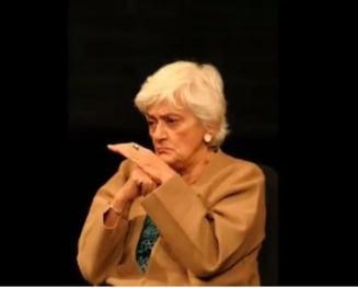 Actrita Olga Tudorache este internata in stare grava la Terapie Intensiva