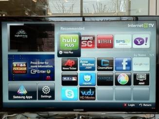 Acum si televizoarele sunt smart. Tu cu ce TV te dai pe Internet?