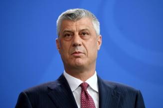 """Acuzat de crime de razboi, presedintele kosovar Hashim Thaci anunta ca va demisiona daca va fi inculpat oficial: """"Nu voi infrunta acuzatiile din biroul meu"""""""