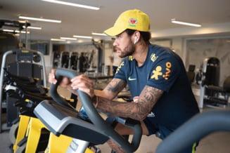 Acuzat de viol, Neymar a izbucnit in plans in cantonamentul Braziliei