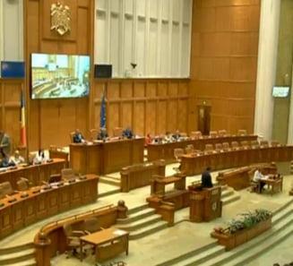Acuzatii de tradare nationala la dezbaterea pe Codul Administrativ. Cele 1.000 de amendamente vor fi votate luni