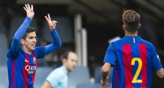 Acuzatii grave dupa victoria la scor a Barcelonei B: Adversarii ar fi vandut meciul!