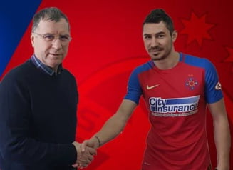 Acuzatii grave la Steaua: Transferat dupa ce a semnat cu sotia antrenorului?