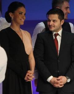 """Adelina si Varciu, cuplul serii la botezul fiicei lui Pepe. """"A fost o seara DE VIS"""", a spus bruneta"""