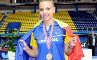 Adina Diaconu, cea mai premiata jucatoare din tenisul de masa all-time. Duminica a castigat al 12-lea titlu european din palmares