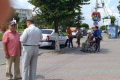 Adjunctul Politiei Locale Slatina, implicat in accident. A lovit cu masina doi tineri care erau pe trecerea de pietoni