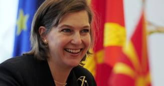Adjunctul secretarului de stat al SUA ajunge in Romania. Ponta nu are timp de Victoria Nuland