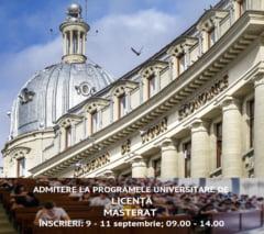 Admitere la Academia de Studii Economice din Bucuresti - septembrie 2019 - la programele de studii universitare de licenta, masterat, doctorat